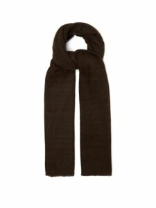 Denis Colomb - Annapurna Cashmere Shawl - Womens - Dark Brown