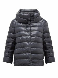Herno - Sofia Quilted Down Jacket - Womens - Navy