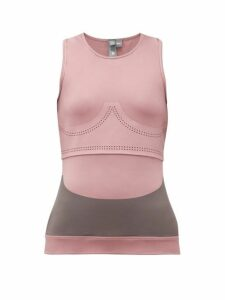 Adidas By Stella Mccartney - Fitsense+ Performance Tank Top - Womens - Pink