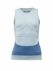 Adidas By Stella Mccartney - Fitsense+ Tank Top - Womens - Light Blue