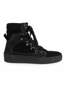 Gabriella Suede Platform High-Top Sneakers