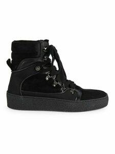 Gabriella Suede Platform High-Top Sneakers