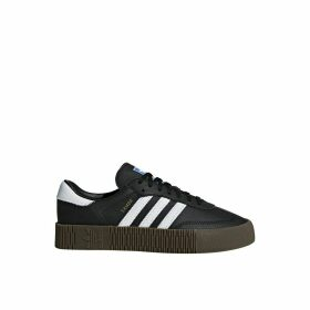 Sambarose Leather Flatform Trainers