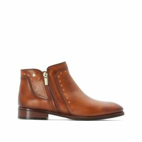 Royal Leather Ankle Boots