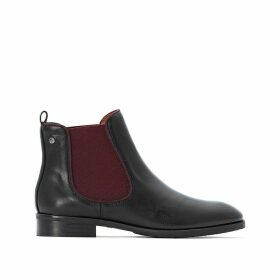 Royal Leather Chelsea Boots