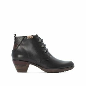 Rotterdam Leather Ankle Boots