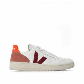 V-10 Leather Trainers