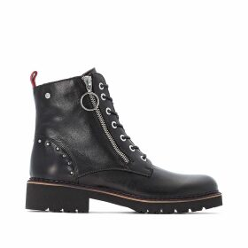 Vicar Leather Ankle Boots