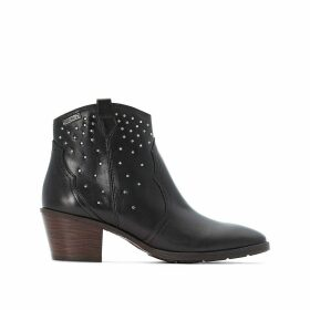 Huelma Leather Ankle Boots