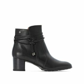 Calafat Leather Ankle Boots