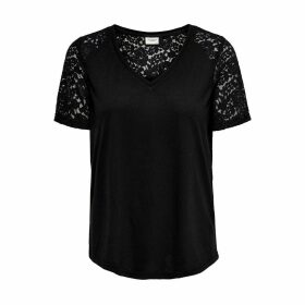 Lacy V-Neck T-Shirt