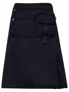 Prada multi-pocket belt bag skirt - Black