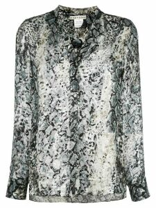 Alice+Olivia Amos tunic blouse - Grey