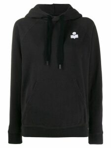 Isabel Marant Étoile long sleeved hoodie - Black