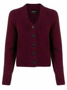 Isabel Marant cashmere cardigan - PURPLE
