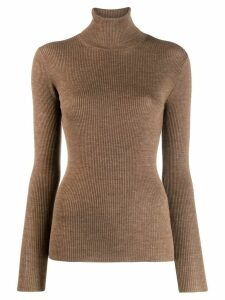 P.A.R.O.S.H. ribbed jumper - Brown