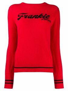 Frankie Morello logo embroidered sweatshirt