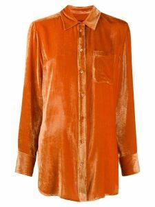 Sies Marjan Sander cord shirt - Orange