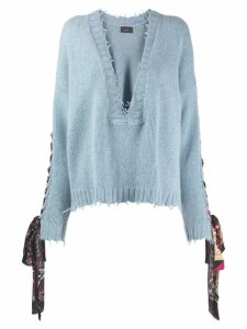 Alanui Reseda sweatshirt - Blue