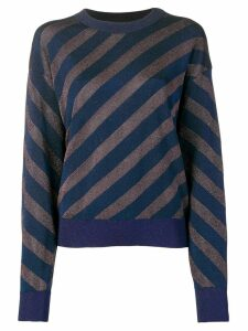 Sonia Rykiel striped jumper - Blue