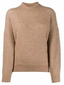 IRO Almy camel hair sweater - Brown