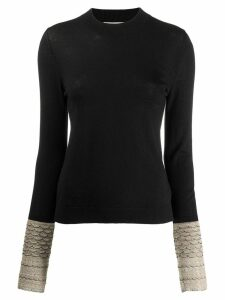 Sonia Rykiel knitted jumper - Black