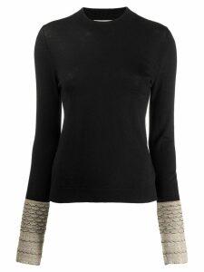 Sonia Rykiel knitted jumper - Black