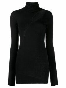 8pm Mercurio cut-out fitted sweater - Black