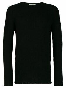 Ma'ry'ya ribbed knit detail sweater - Black