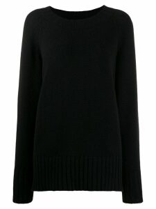 Maison Margiela oversized knitted sweater - Black