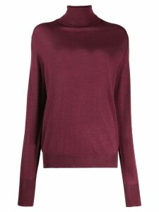 Ma'ry'ya roll neck sweater - Red