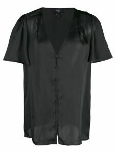 PAIGE V-neck blouse - Black
