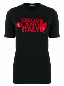 Dsquared2 logo printed T-shirt - Black