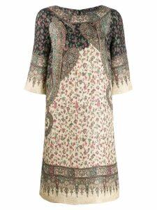 Etro paisley shift dress - Neutrals