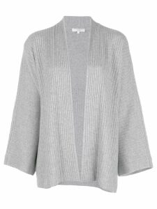 Vince ribbed knit cardigan - Grey