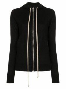 Rick Owens cashmere hoodie - Black