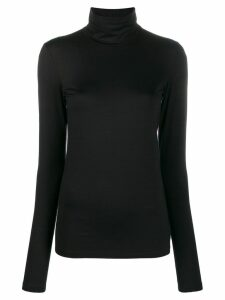 Jil Sander roll neck T-shirt - Black