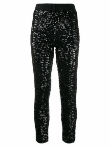 P.A.R.O.S.H. embellished cropped trousers - Black