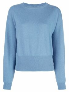 Brunello Cucinelli monochrome jumper - Blue