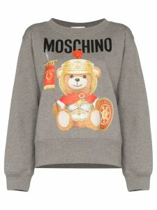 Moschino Roman Teddy logo sweatshirt - Grey