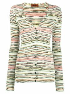 Missoni striped cardigan - Green