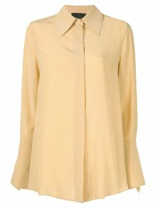 Erika Cavallini Colomba shirt - Yellow
