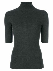 Theory short-sleeve jumper - Grey