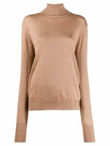 Ma'ry'ya relaxed-fit turtleneck jumper - NEUTRALS