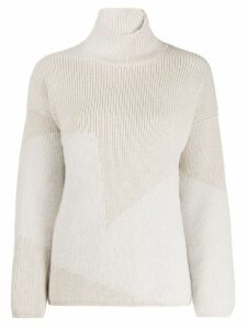Lorena Antoniazzi turtle-neck sweater - NEUTRALS