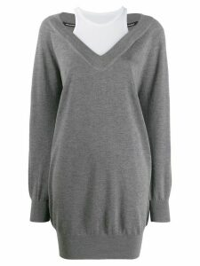 Alexander Wang long sleeved sweater - Grey