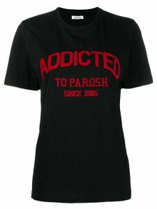 P.A.R.O.S.H. short sleeved T-shirt - Black