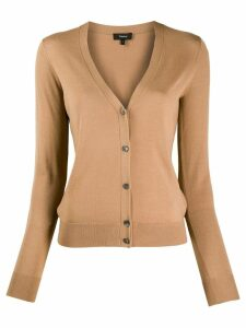 Theory v neck cardigan - NEUTRALS