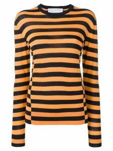 Victoria Victoria Beckham shift seam sweatshirt - Blue