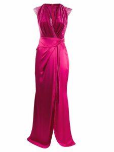 Talbot Runhof Sofia evening dress - PINK